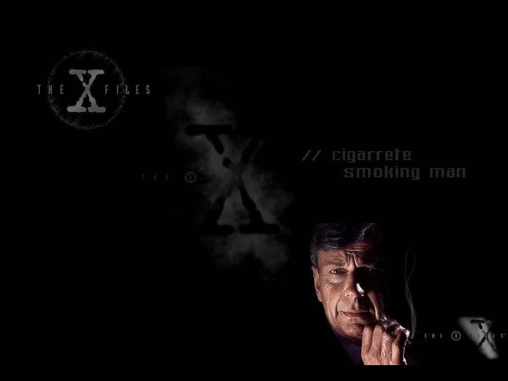 The Smoking Man X Files By Riddlen