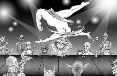 Zero G Exotic Dancer by TheMightyGorga