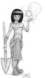 Zazie - A halfling