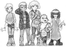 5 NPC Kids