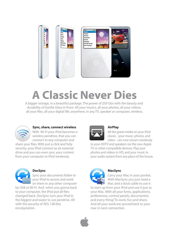 iPod classic mockup by pbr on DeviantArt