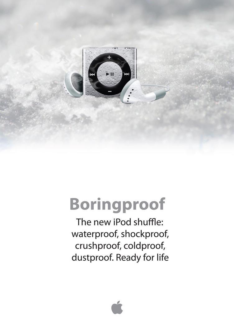 iPod shuffle mockup by pbr