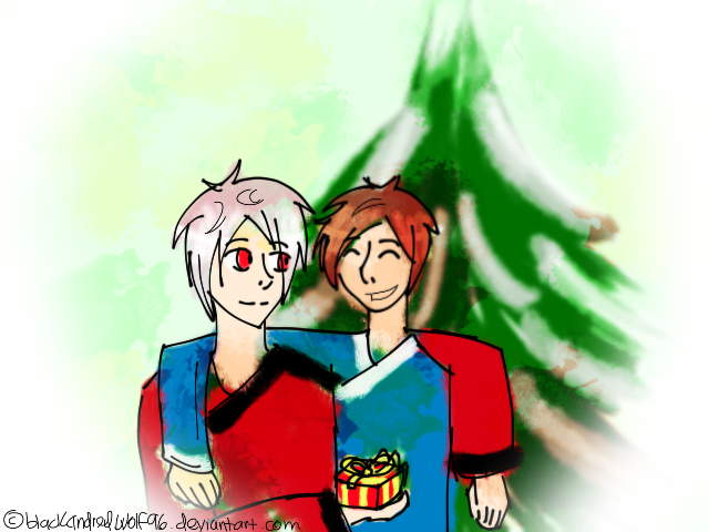 Secret Santa: Ionian Ninja Christmas by blackandredwolf96