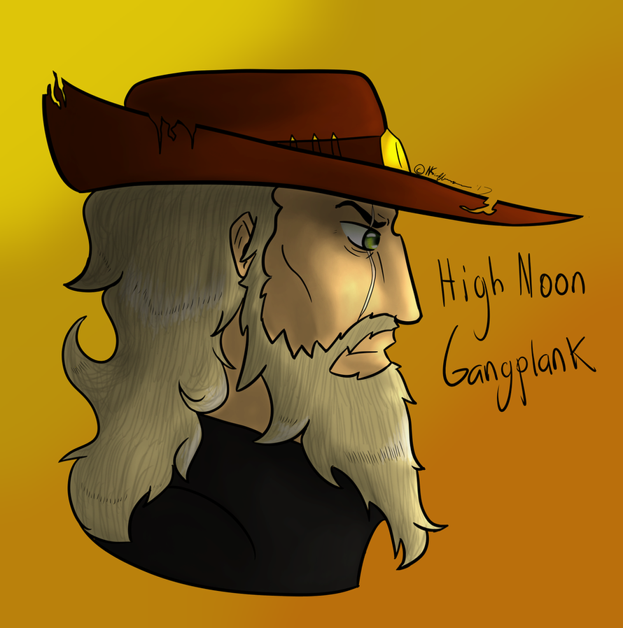 High Noon Gangplank Concept by blackandredwolf96