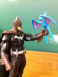 Batman Caught a Zubat by Elecman99