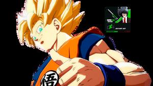 Goku Render DB Fighter Z by: Alucardkun