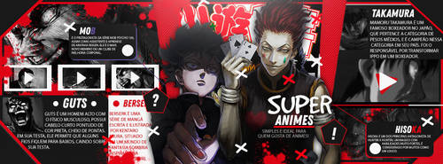 Cover Super Animes by AlucardkunDesign