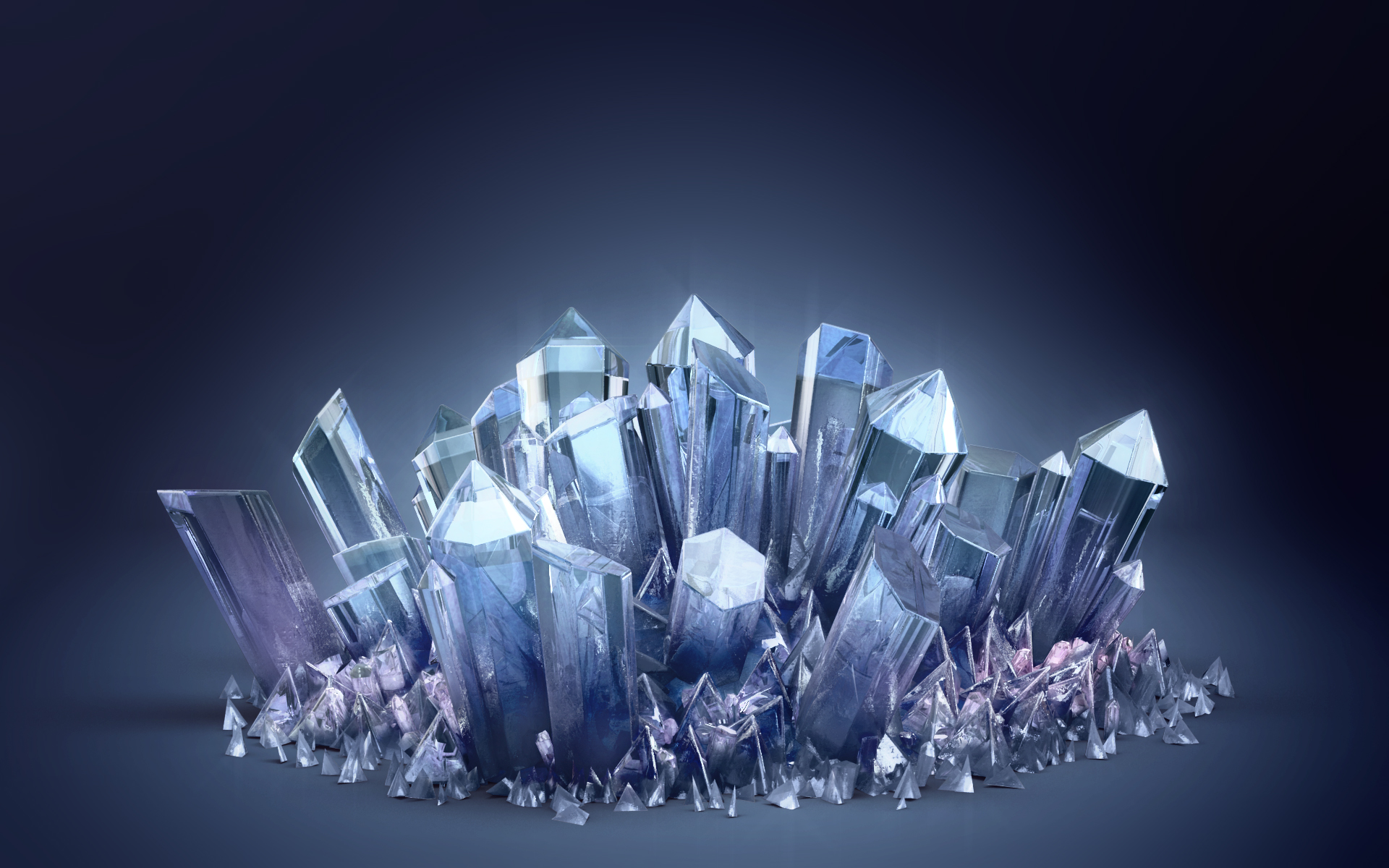 Crystals By Gbrgraphix On DeviantArt