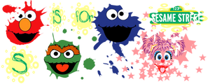 S iS fOr Sesame Street by ABC-123-DEF-456