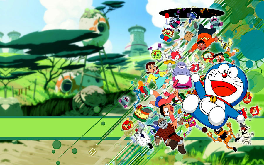 Doraemon HD Wallpaper > Doraemon widescreen wallpaper , wallpaper Doraemon