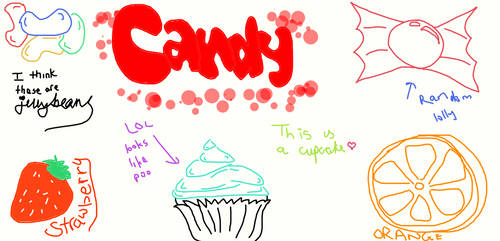 Candy, Cupcake, Jellybeans etc by ABC-123-DEF-456