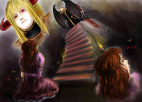 Long Stairs by elanor-pam