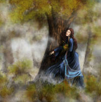 Lost in the Misty Woods by elanor-pam