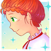 Red haired girl (Digital version)