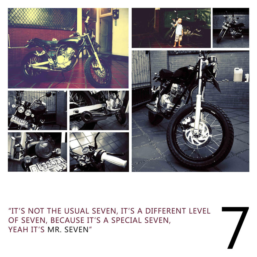 Mr. Seven by afiphotograph