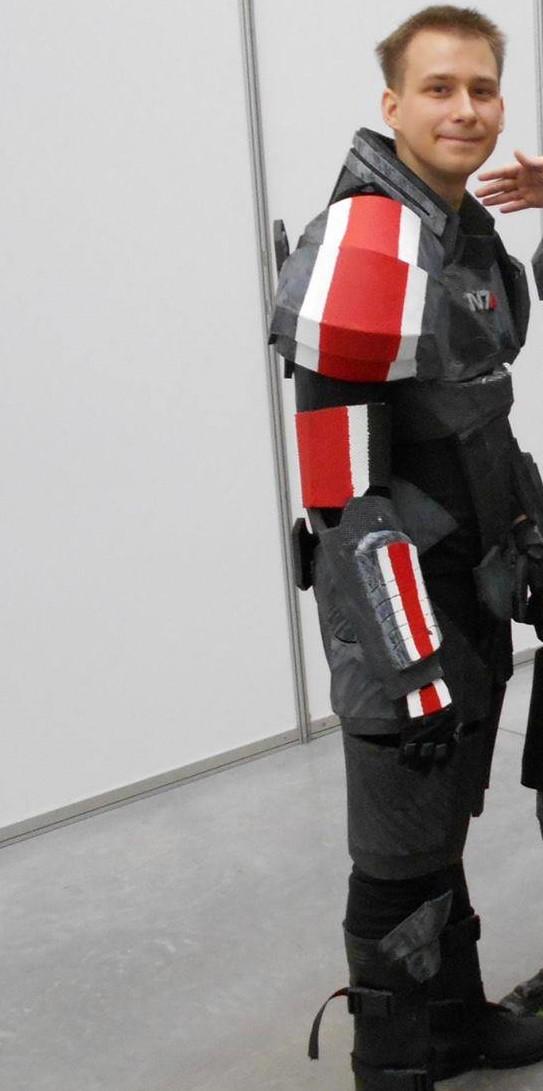 My ME N7 cosplay by atlantanor