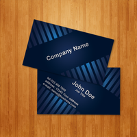 Blue Business Card by MathewT