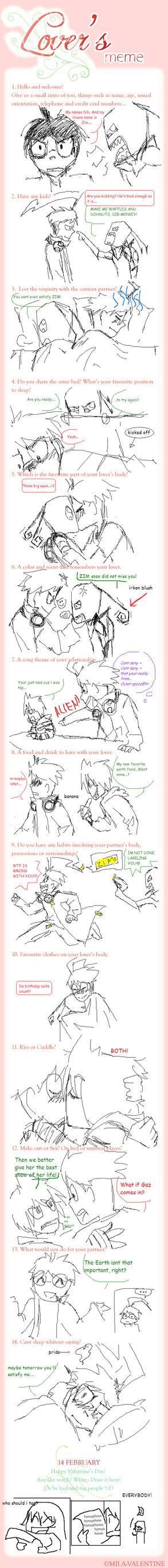 Lovers Meme ZADR by IyagaruTanuki