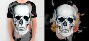 Skull Drawing (Black)