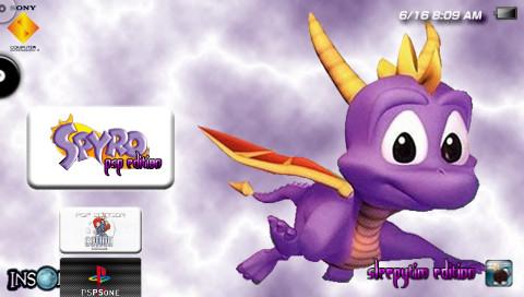 Spyro the dragon treetops level psp gameplay youtube.