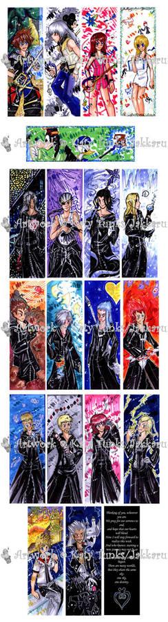 Kingdom Hearts Bookmarks