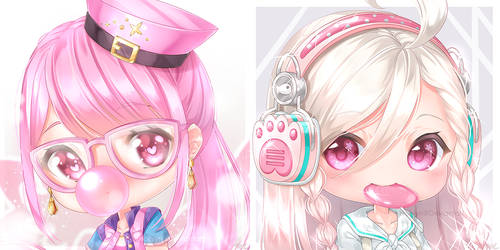 Maplestory 2 - Icon Commissions (Set 3) by Hollyyn