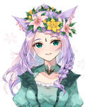 Commission - Flower Wreath