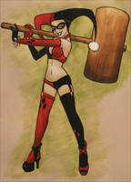 Harley Quinn - Hit it by Kit-Kat-Choco