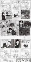 SHERLOCK KOMIX ffffff. by muffinpoodle
