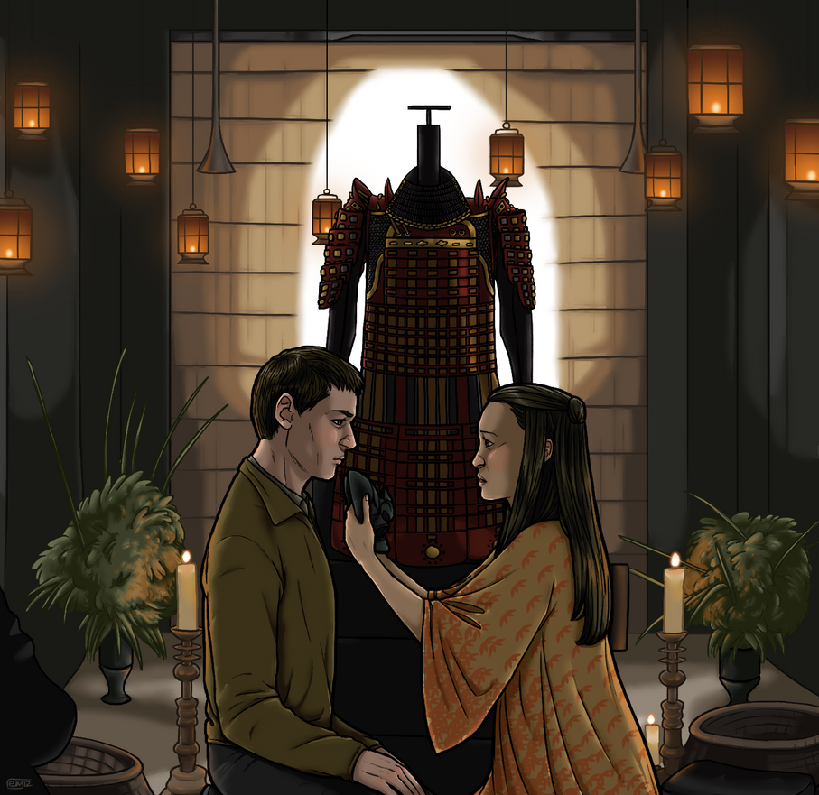 Hannibal and Murasaki by muffinpoodle on DeviantArt