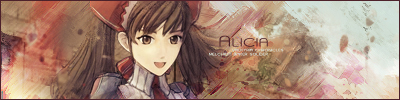 Alicia Melchiot Signature by kfrooster
