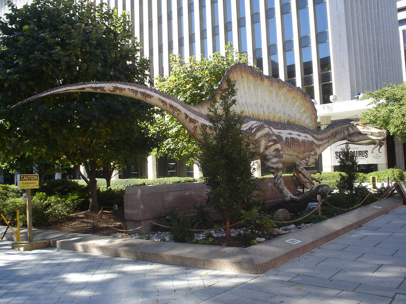 Spinosaurus at National Geographic by Archanubis