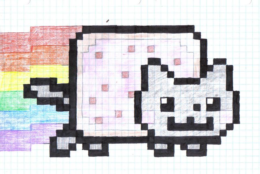 Nyan Nyan Cat by milaqt on DeviantArt