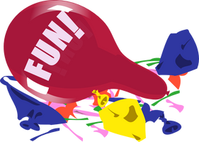 Balloon Popping FUN! Banner by Retl