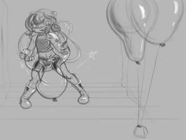 Jane D'Arc Balloon Show