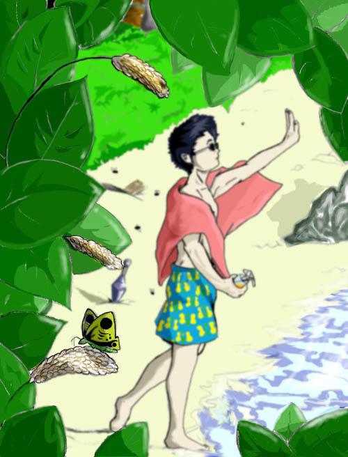 Summer Time Shino- bugmasta by Mrknownothing