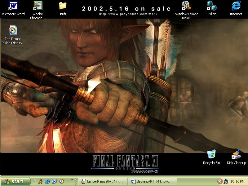 new ff11 desktop-agagagaga by Mrknownothing
