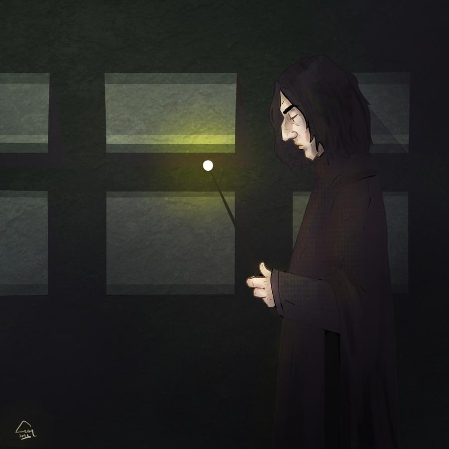 Severus Snape by SchifferNull