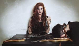 The Widow Who Preyed on Men by xBassxHarmingx