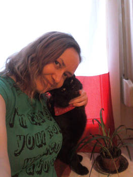 .: my beloved cat and I :.