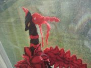 Black Rose Dragon Plush 2 by Rixnane