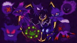 Purple ghosts
