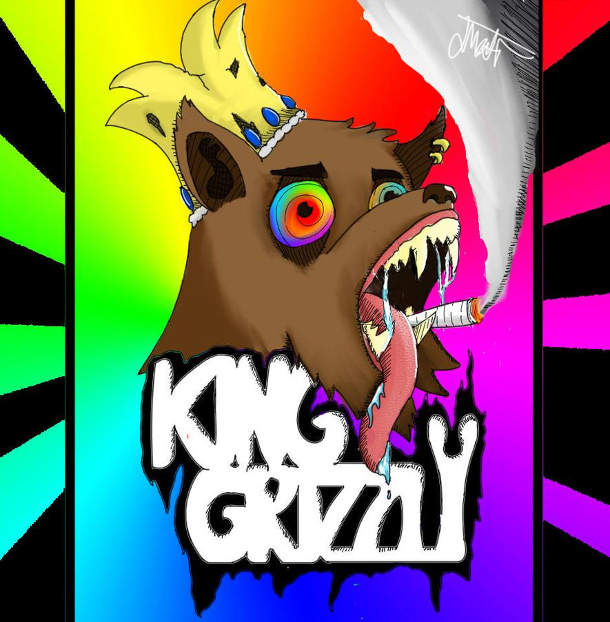 King Grizzly Band Art by GorrilaGamer