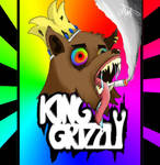 King Grizzly Band Art