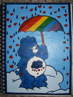 Grumpy Bear by Amouse