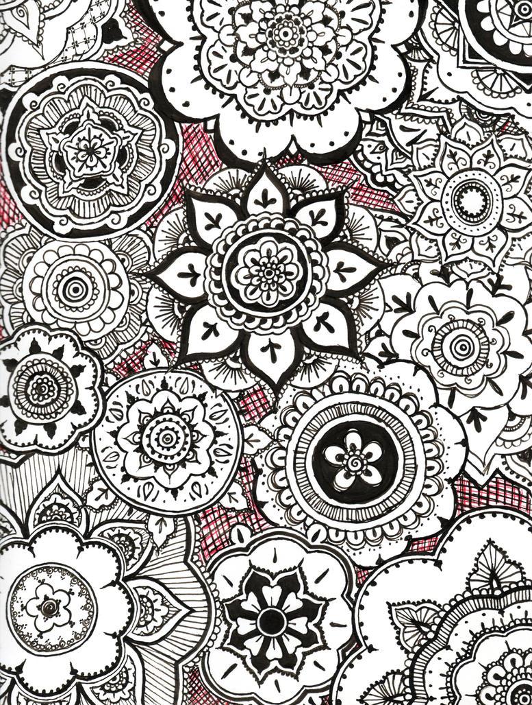 Day 14 -Henna-Mehndi- by Amouse on DeviantArt