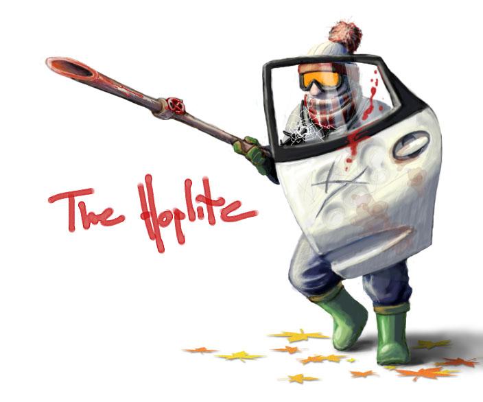 The Hoplite by osksta