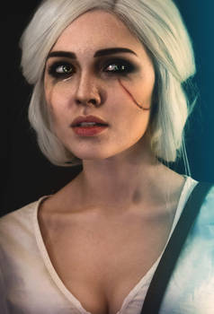 Ciri costest Witcher 3: Wild Hunt by Sladkoslava