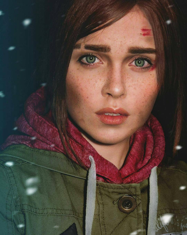 Ellie The Last of Us by Sladkoslava  by Sladkoslava