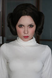 Leia cosplay Star Wars by Sladkoslava